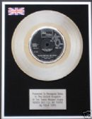 "FOUR TOPS - 7"" Platinum Disc - REACH OUT I'LL BE THERE"